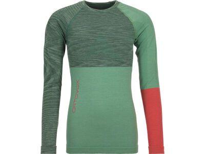 Ortovox 230 Merino Competition Long Sleeve W, green isar blend - Unterhemd