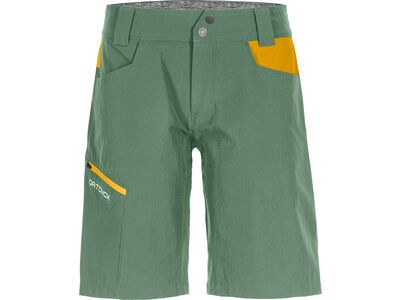 Ortovox Merino Shield Zero Pelmo Shorts W, green isar