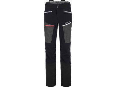 Ortovox Merino Naturtec Plus Pordoi Pants W, black raven - Skihose