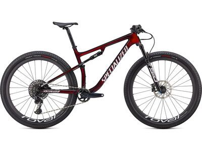 Specialized Epic Expert gloss red tint/white gold ghost pearl 2021