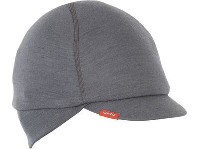 Giro Seasonal Merino Wool Cap, charcoal - Radmütze