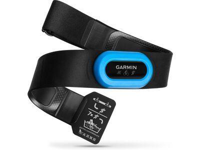Garmin HRM-Tri Herzfrequenz-Brustgurt, schwarz/blau - Sensor