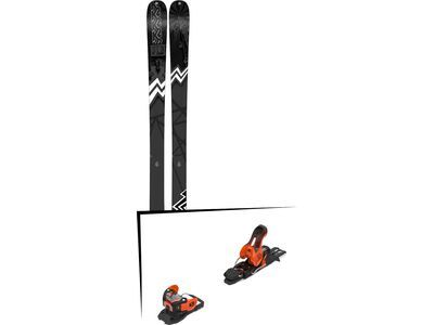 Set: K2 SKI Press 2019 + Salomon Warden 11 orange/black