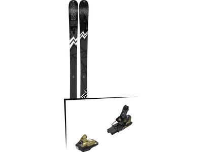 Set: K2 SKI Press 2019 + Salomon STH2 WTR 16 gold/black