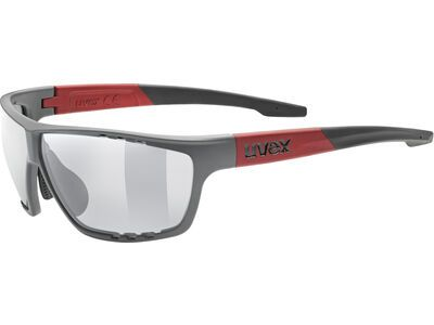 uvex sportstyle 706 Mirror Silver grey red mat