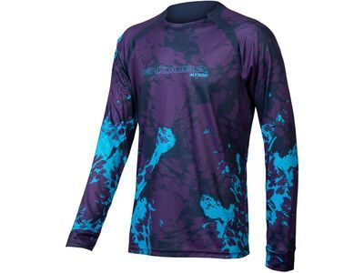 Endura MT500 Animo L/S Jersey electric blue