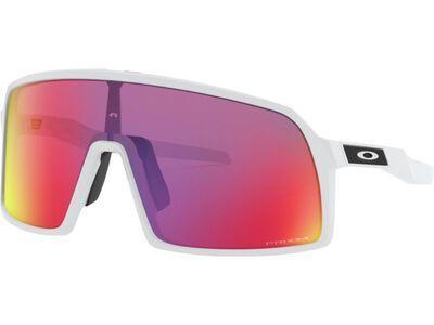 Oakley Sutro S Prizm, matte white/Lens: prizm road - Sportbrille