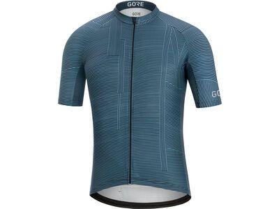Gore Wear C3 Line Brand Trikot, deep blue/orbit blue - Radtrikot