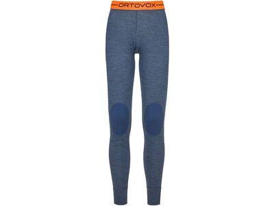Ortovox 185 Merino Rock'n'Wool Long Pants W, night blue blend - Unterhose