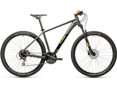 Cube Aim Race 29 2021, darkgrey´n´orange - Mountainbike