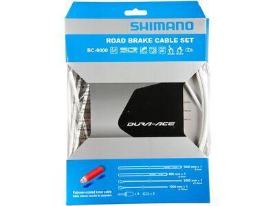 Shimano Bremszug-Set Dura-Ace Polymer beschichtet, weiß