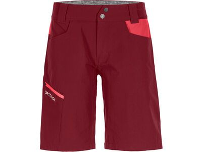 Ortovox Merino Shield Zero Pelmo Shorts W, dark blood