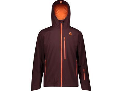 Scott Ultimate GTX Men's Jacket red fudge