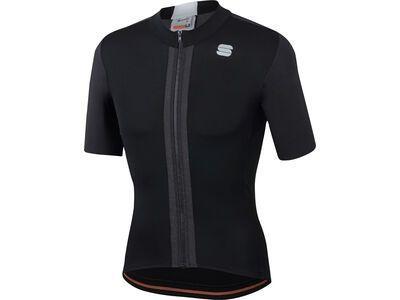 Sportful Strike Short Sleeve Jersey black/white