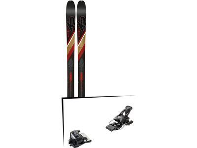 Set: K2 SKI Wayback 80 2019 + Tyrolia Attack² 13 GW solid black