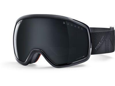 Marker Big Picture Plus inkl. Wechselscheibe, black/Lens: black light hd - Skibrille