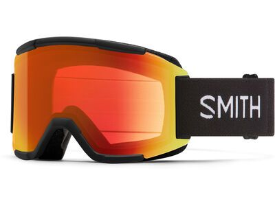 Smith Squad - ChromaPop Everyday Red Mir, black/Lens: cp everyday red mir