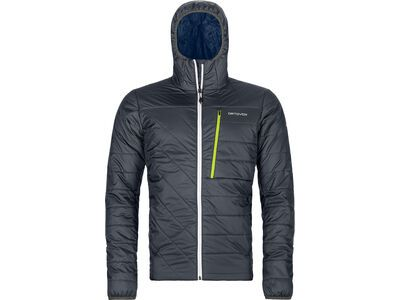 Ortovox Swisswool Piz Bianco Jacket M, black steel - Thermojacke