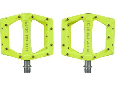 Cube RFR Pedale Flat Race neon yellow