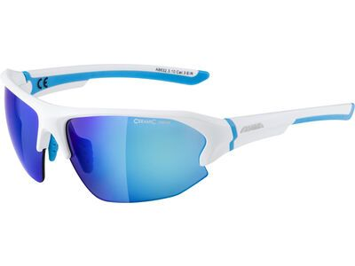 Alpina Lyron HR Mirror Blue white matt-cyan 1