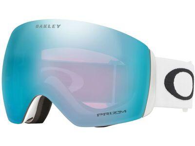 Oakley Flight Deck XL Prizm, matte white/Lens: sapphire iridium - Skibrille