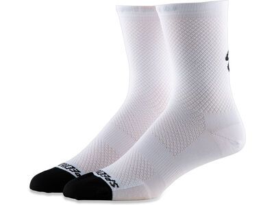Specialized Hydrogen Vent Tall Sock, white - Radsocken