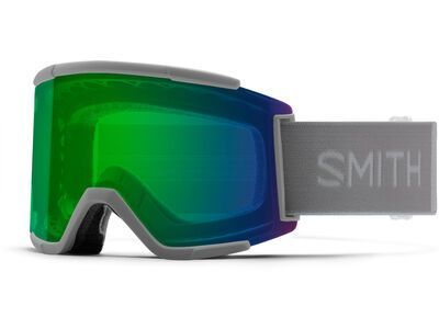 Smith Squad XL inkl. WS, cloudgrey/Lens: cp everyday green mir - Skibrille