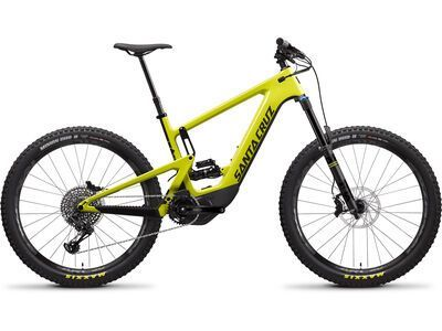 Santa Cruz Heckler CC S 2020, yellow/black - E-Bike