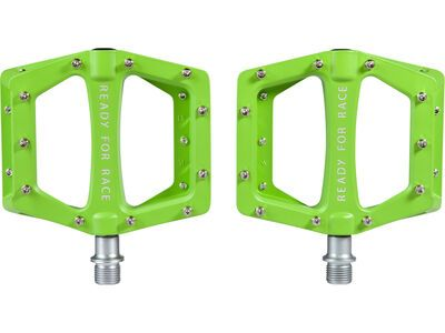 Cube RFR Pedale Flat CMPT green