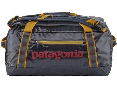 Patagonia Black Hole Duffel 40 L smolder blue w/buckwheat gold