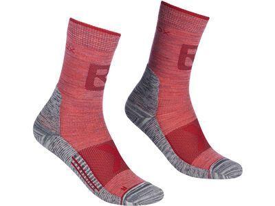 Ortovox Alpinist Pro Compression Mid Socks W blush