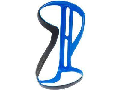 Blackburn Clutch Carbon Side-Entry Bottle Cage Right, matte blue - Flaschenhalter