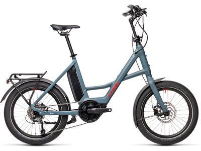 Cube Compact Hybrid Sport 2021, blue´n´red - E-Bike
