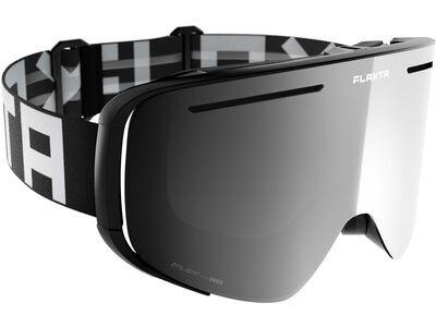 Flaxta Plenty, black/white/Lens: enlight silver mirror