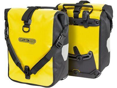 Ortlieb Sport-Roller Classic (Paar), gelb-schwarz - Fahrradtasche