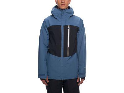 686 Men's GLCR Gore-Tex GT Jacket, bluesteel colorblock - Snowboardjacke
