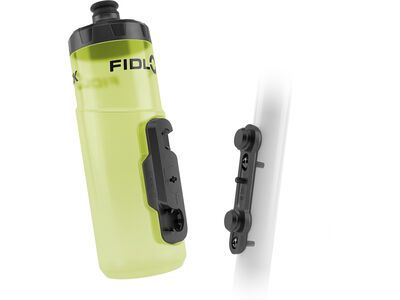 Fidlock Twist Bottle 600 + Bike Base transparent yellow