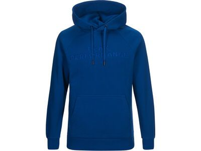 Peak Performance Logo Hood, island blue - Hoody