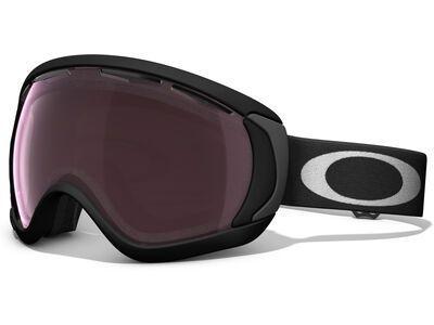 Oakley Canopy Prizm, matte black/Lens: black iridium - Skibrille