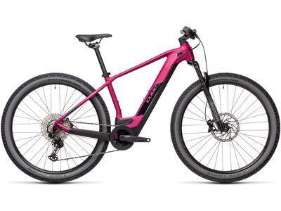 Cube Reaction Hybrid Race 625 29 2021, berry´n´black - E-Bike