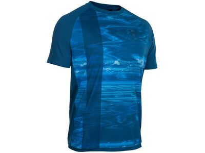 ION Tee SS Traze AMP, ocean blue - Radtrikot