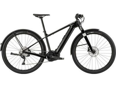 Cannondale Canvas Neo 1 2021, guinness black - E-Bike