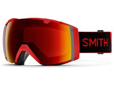Smith I/O inkl. WS, rise/Lens: cp sun red mir - Skibrille
