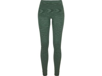 Ortovox 230 Merino Competition Long Pants W, green isar blend - Unterhose