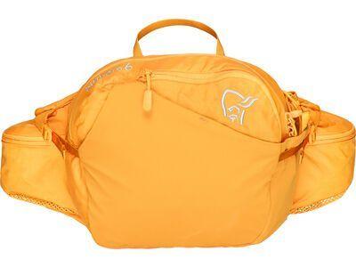 Norrona bitihorn 6L hip Pack orange crush
