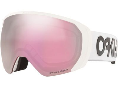 Oakley Flight Path XL Prizm Factory Pilot, white/Lens: hi pink iridium - Skibrille