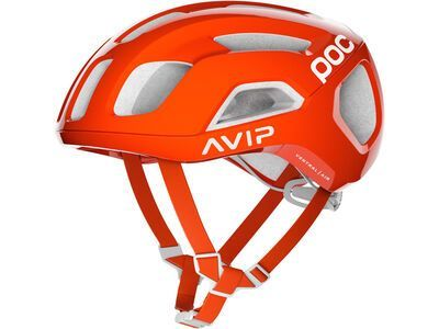POC Ventral Air SPIN AVIP, zink orange - Fahrradhelm