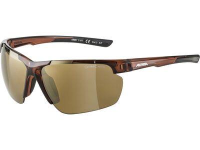 Alpina Defey HR Mirror Gold brown transparent matt