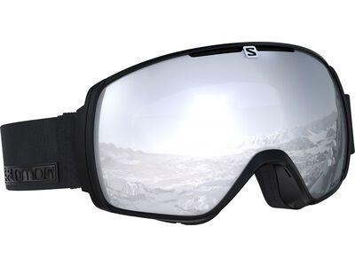 Salomon XT One, black neon/Lens: ml super white - Skibrille
