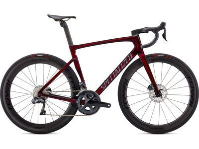 Specialized Tarmac SL7 Pro Ultegra DI2 red tint carbon/carbon 2021